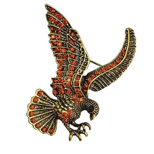 dovewill Vintage águila Broche Pin traje Stick Mama Pin de solapa ...