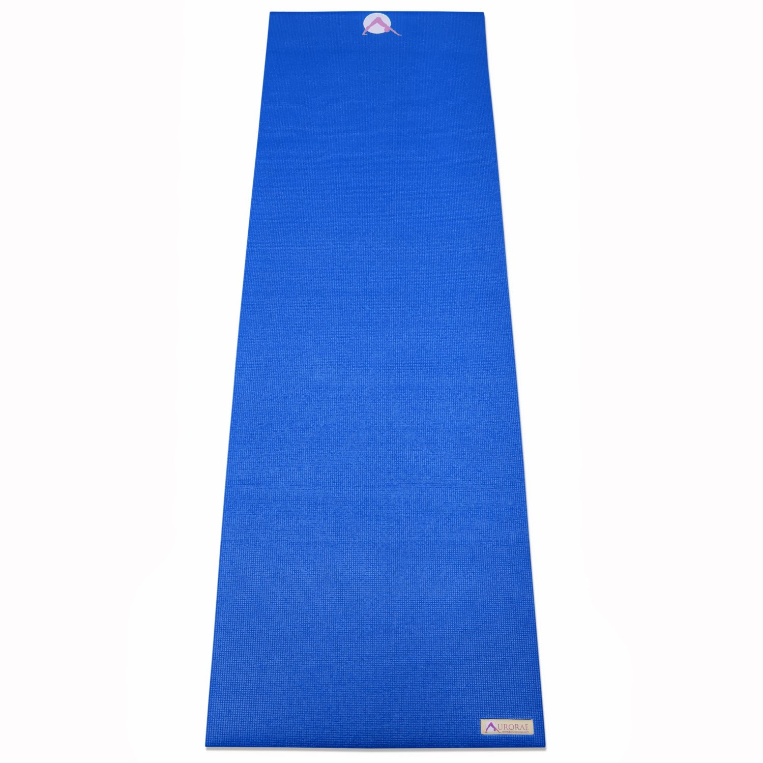 Aurorae Classic Extra Thick 1/4'' and Long 72'' Premium Eco Safe Yoga Mat with Non Slip Rosin Included