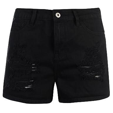 Firetrap Womens Blackseal High Waisted Shorts  Amazon.co.uk  Clothing e49d0e4ef