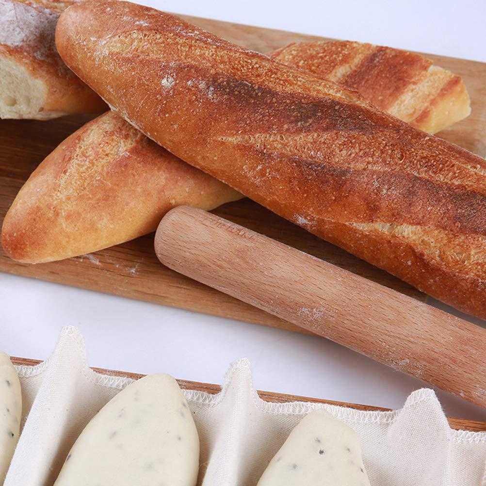 45 x 75cm BESTonZON G/ärtuch Teigtuch Backleinen Baumwolle Fermentationstuch f/ür Baguette und Brotteig Lagerung trockener Lebensmittel Lebensmittelfiltration