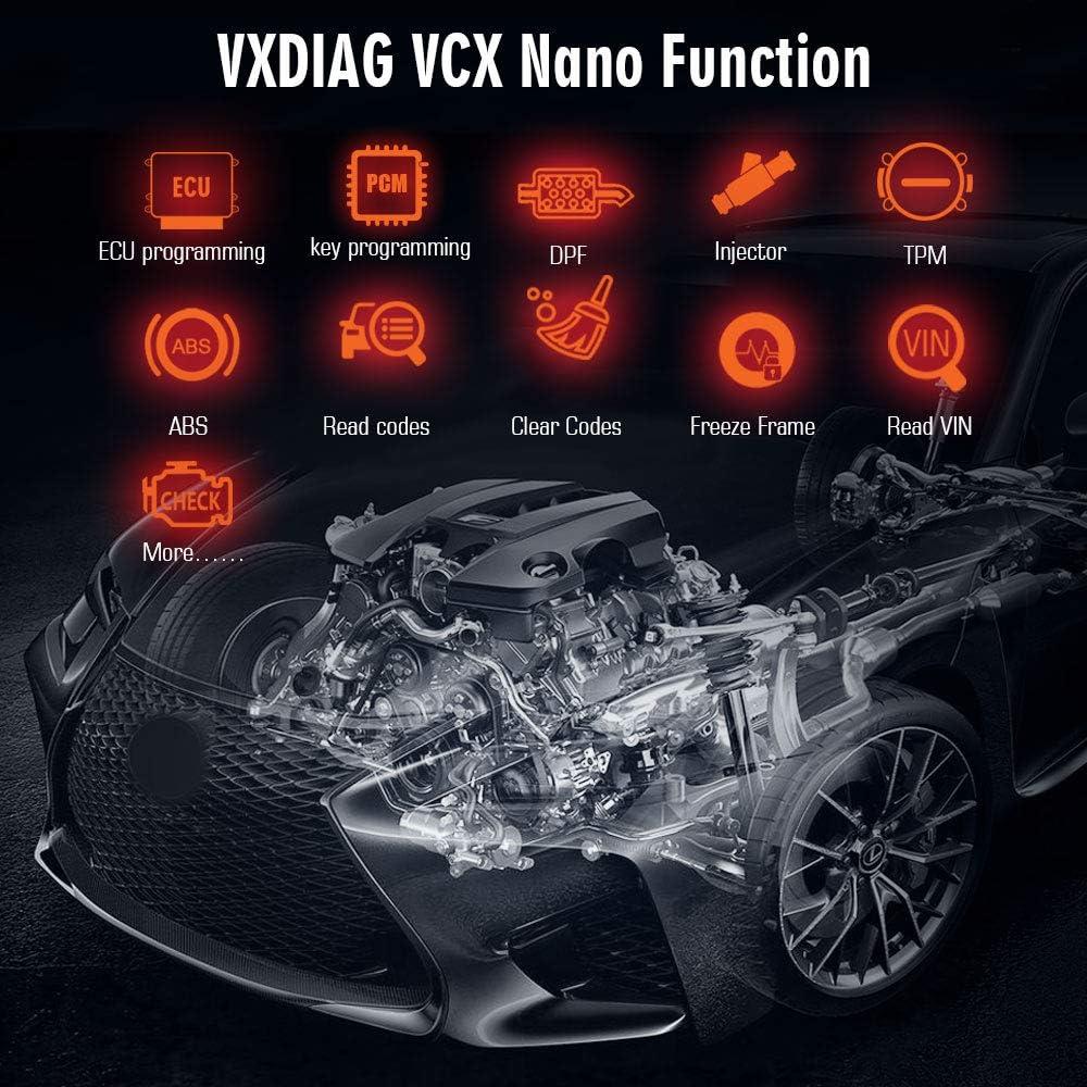 VXDIAG VCX Nano f/ür Mazda 2 in 1 mit IDS V114 Diagnoseger/ät