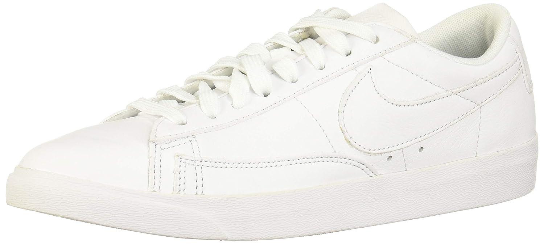 Nike W Blazer Low Le, Hausschuhe de Gimnasia para damen Weiß (Weiß Weiß Weiß 104)