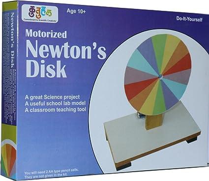Buy kutuhal motorized newtons disk do it yourself kit science kutuhal motorized newtons disk do it yourself kit science exploration school project solutioingenieria Gallery