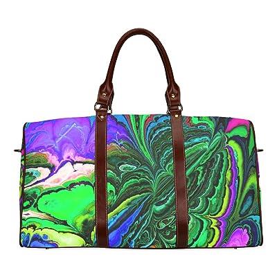 Amazing Fractal 416 Custom Waterproof Travel Tote Bag Duffel Bag Crossbody Luggage handbag