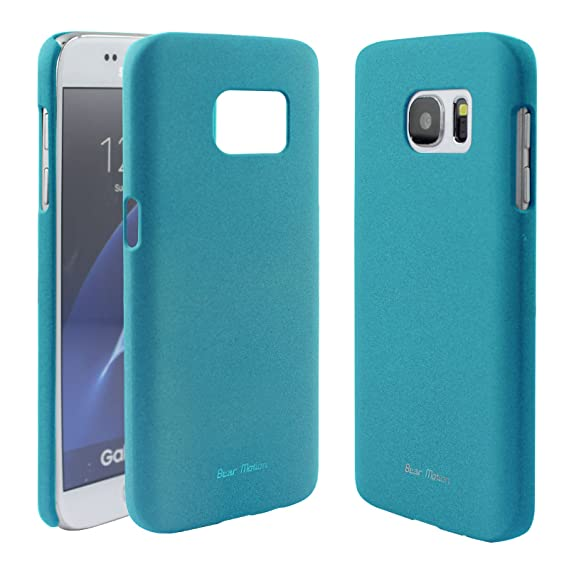 finest selection d21bd e558c S7 Case - Bear Motion for Galaxy S7 - Premium Back Cover for Samsung Galaxy  S7 - Sand (Blue)