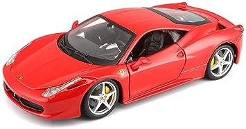Bburago Miniature Ferrari Italia 12 À Modèle L'échelle Echelle 26003r 2009 458 Véhicule xsQhCdrt