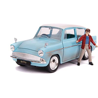 1:24 Harry Potter and 1959 Ford Anglia Die-Cast Vehicle: Toys & Games