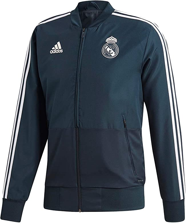 adidas Veste de présentation Real Madrid 2018/19: Amazon.es ...