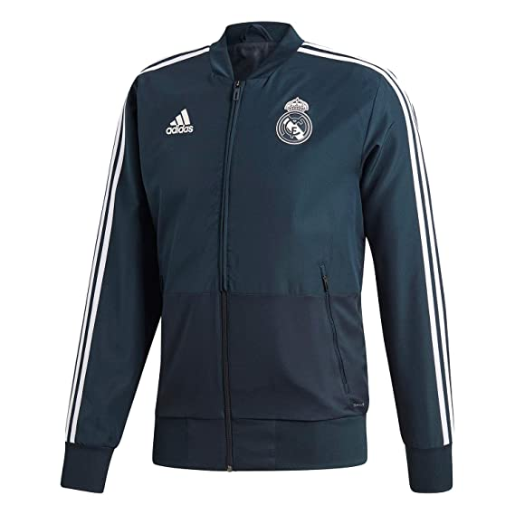 adidas Real Madrid- Chaqueta oficial del real madrid para hombre  Amazon.es  50ab7faf9c20a