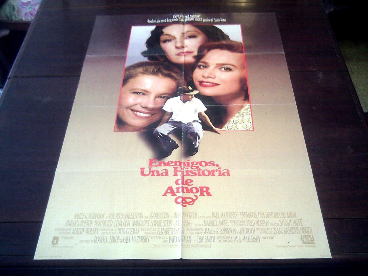 Original Latinamerican Movie Poster Enemies A Love Story ...