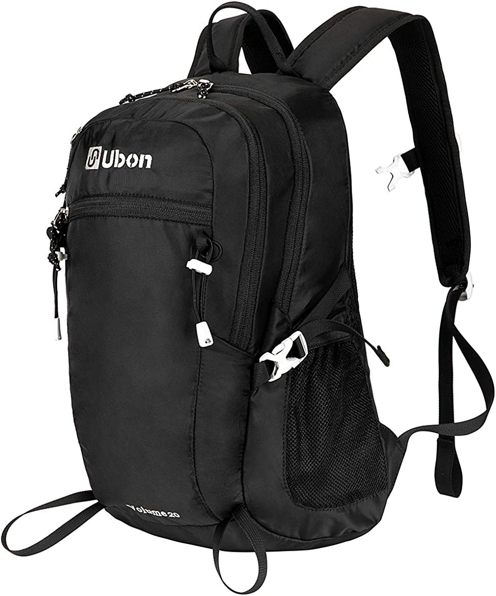 Ubon Hiking Backpack 20L Lightweight Travel Daypack for Men Women Teens