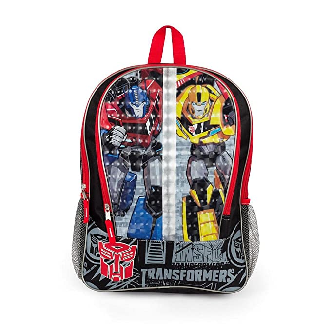 Transformers 16 inch Backpack with Side Mesh Pockets