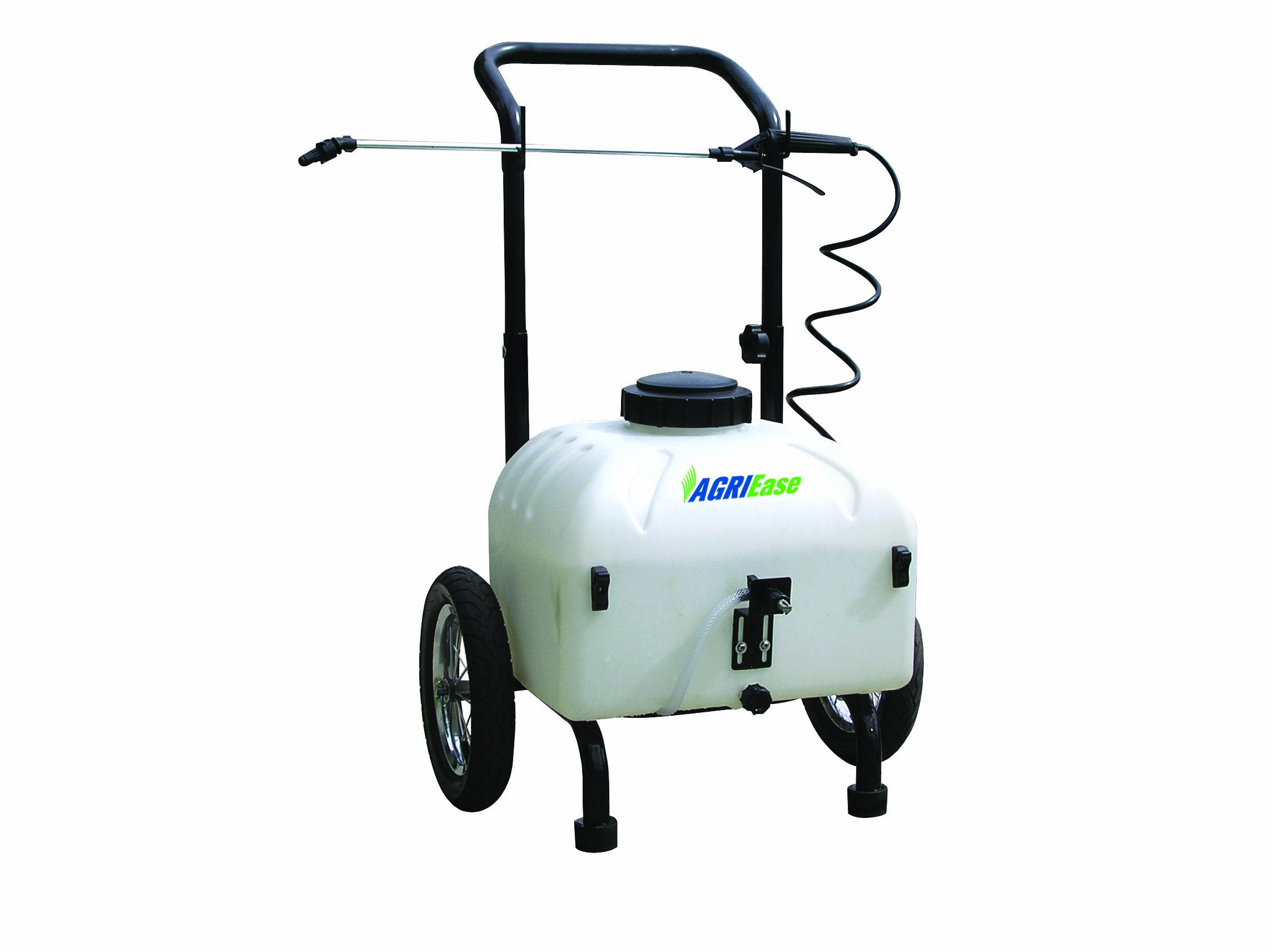 BE AGRIEase 90.710.009 9-Gallon Pull Sprayer With 12-Volt Battery Pump