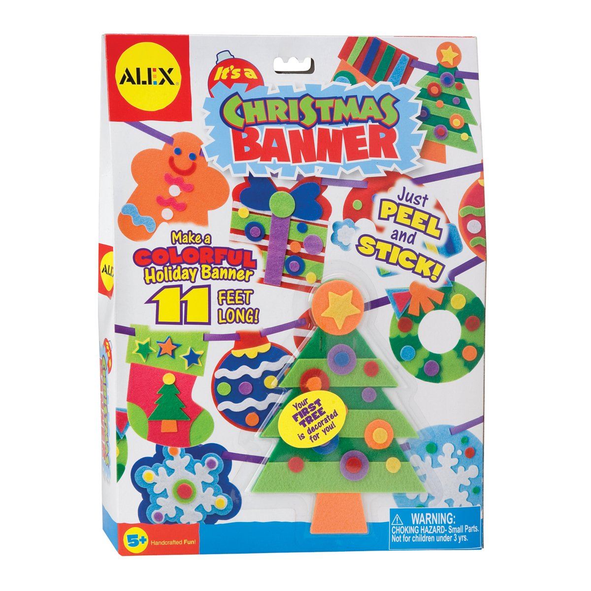 ALEX Toys Craft It's A Christmas Banner Decoration Kit