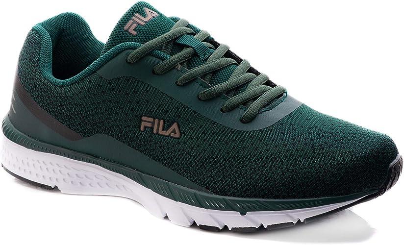 Fila Laguna - Zapatillas de Running para Hombre, Color Verde, Talla 47 EU: Amazon.es: Zapatos y complementos