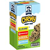 Quaker Chewy Granola Bars, 25 percent Less Sugar Variety Pack, 2 Boxes (58 Bars)