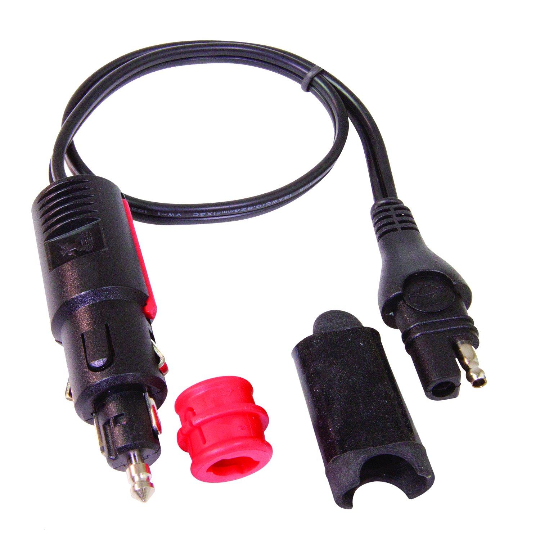 Tecmate Optimate CABLEO-02, Adapter, SAE to AUTO/Bike Plug by Tecmate