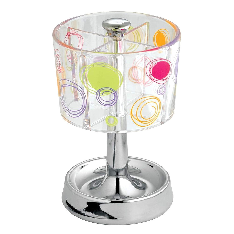 InterDesign Claro//Cromado Doodle Dosificador de jab/ón l/íquido para la cocina; accesorios del ba/ño