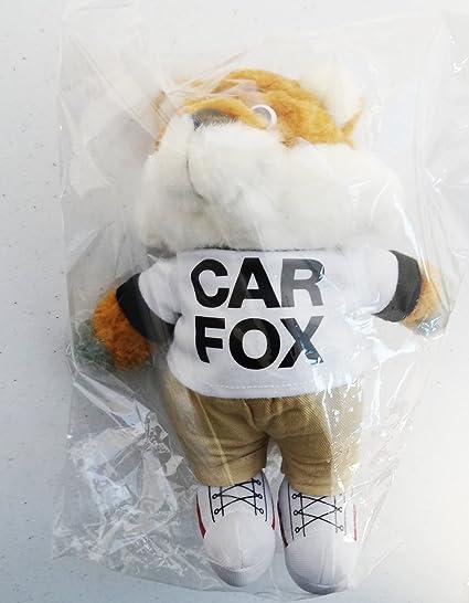 Amazon Com Show Me The Carfax Car Fox Plush 9 Inches Toys Games