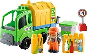 Ecoiffier 3221 Veicolo in Miniatura, Camion della Spazzatura