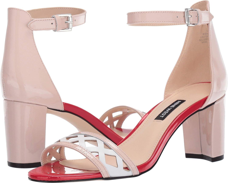 NINE WEST Womens Paisley Heeled Sandal