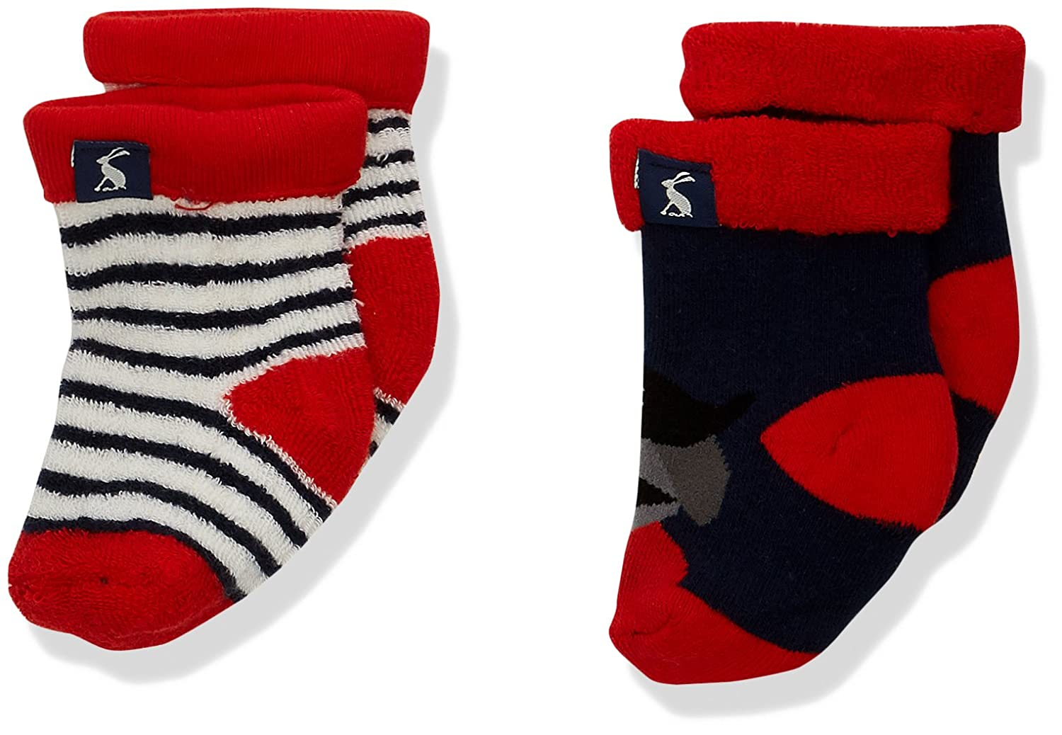 Joules Baby Boys' Terry Socks Pack of 2