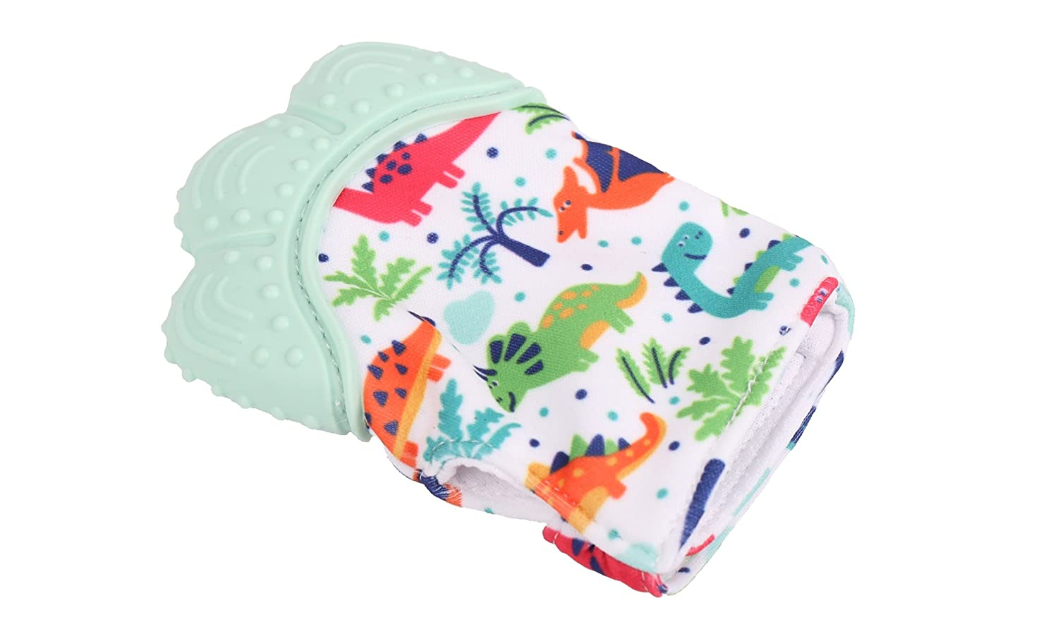 Soothing Infant Mitt Jomolly Boy Silicone Teether Toy Glove Baby Teething Mitten
