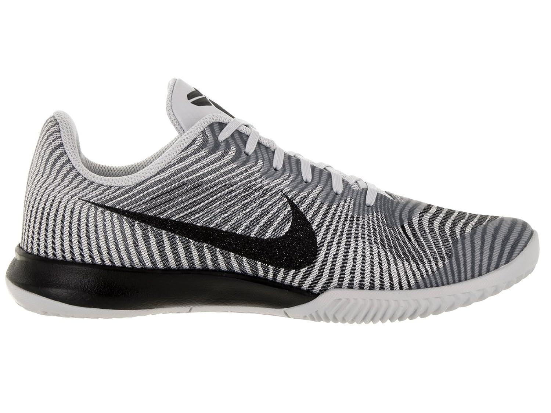 Amazoncom  NIKE Mens KB Mentality II Basketball Shoe WhiteBlackWolf Grey 11 DM US  Shoes