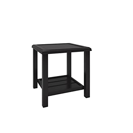 Shelf Castle Island Outdoor Coffee Table Dark Brown Ashley Furniture Signature Design Slate Style Top Talkingbread Co Il