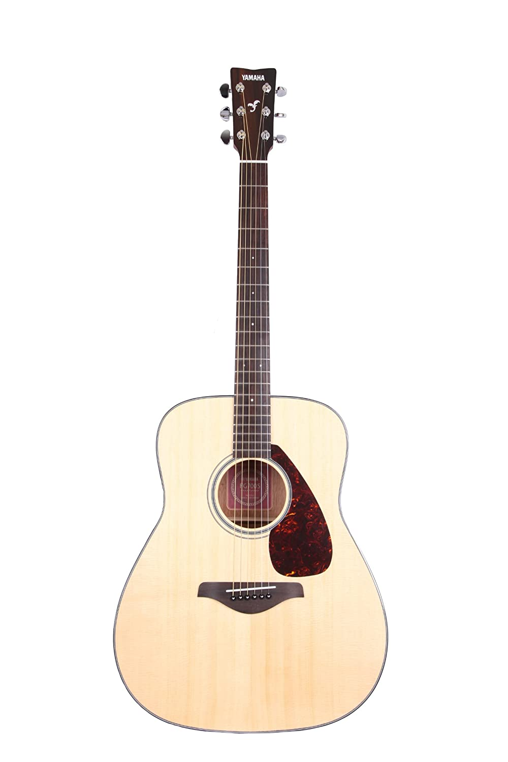Yamaha FG700S Solid Top Acoustic Guitar, Natural - good beginner acoustic guitar
