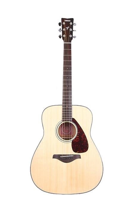 0dccc827e5 Amazon.com: Yamaha FG700S Solid Top Acoustic Guitar, Natural ...