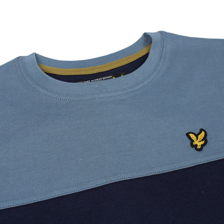 Lyle & Scott Junior - Yoke T Shirt, Navy, 10-11 yrs: Amazon.co.uk: Clothing
