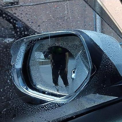Color:100x145mm Car Rearview Mirror Film Anti-Water Anti-Fog Mirror Film for Car Rainproof Waterproof Rearview Mirror Window Clear Film Kaemma
