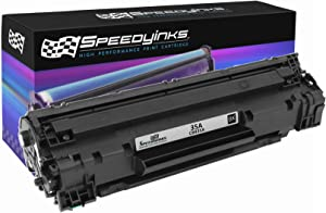 Speedy Inks Compatible Toner Cartridge Replacement for HP CB435A 35A ( Black , 1 pk )