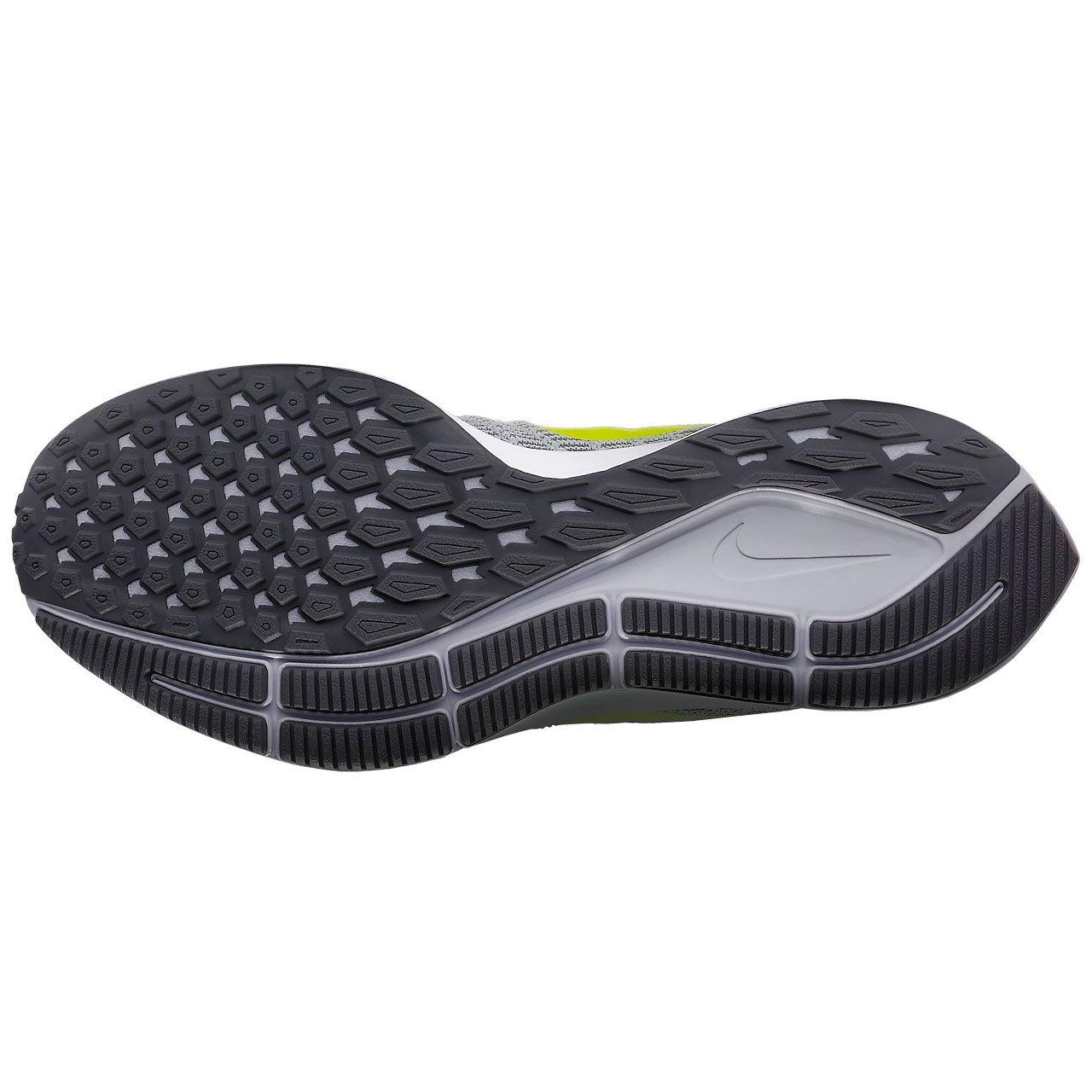 Nike Womens Air Zoom Pegasus 35 Running Shoes B079ZN9T11 7.5 B(M) US|White/Volt-gunsmoke-atmosphere Grey