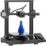 Ender 3 V2 3D Printer, Official Creality DIY 3D Printer, Upgraded Silent Motherboard, Meanwell Power Supply, Carborundum Glas