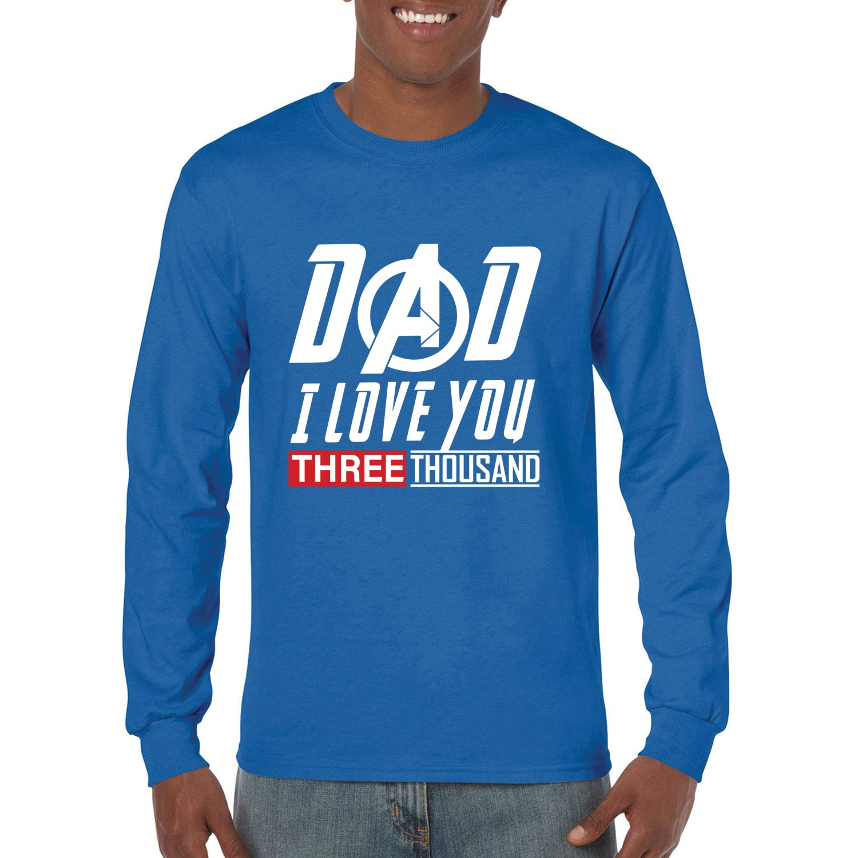 Dad I Love You Three Thousand Movie S Graphic 1605 Shirts