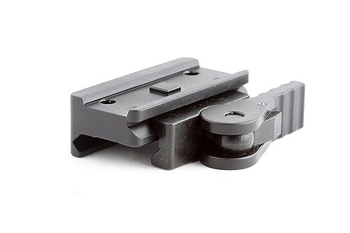 American Defense AD-T1-L STD Riflescope Optic Mount, Black