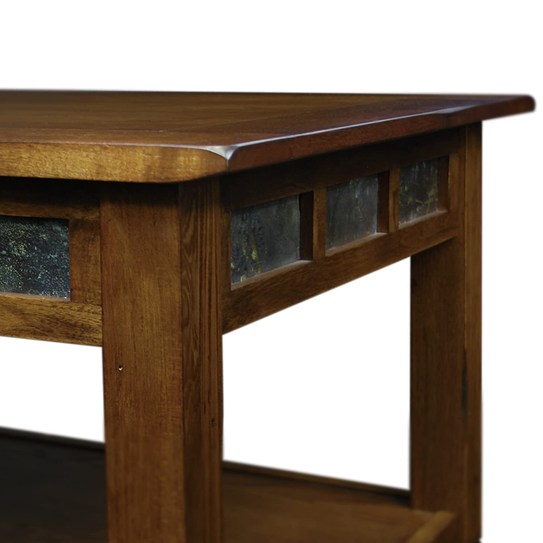 Amazon Slatestone Oak Storage Coffee Table Rustic Oak