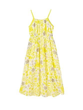 Vertbaudet kleid gelb