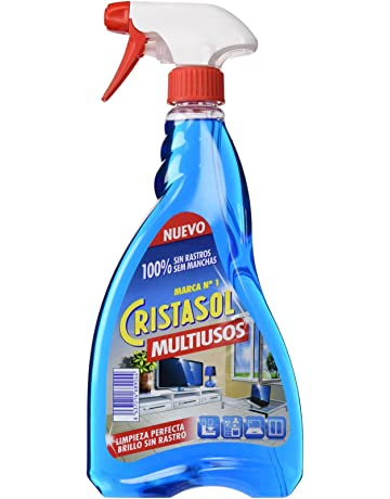 Cristasol Limpiador Multiuso para Limpia Cristal - 0,75 l