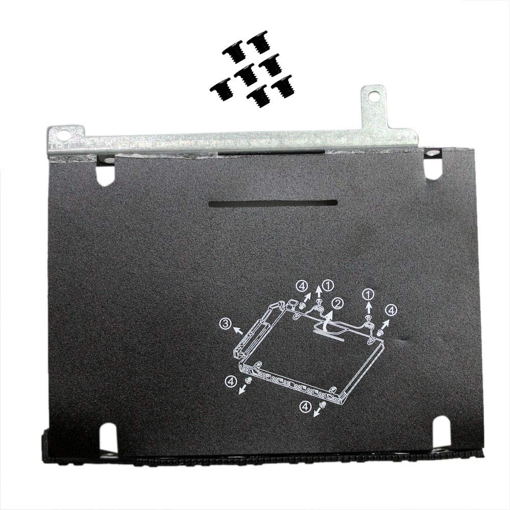 Zahara Replacement for HP ProBook 450 455 470 475 G5 Hard Drive Bracket Caddy Frame HDD Cover Caddy with Screws