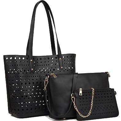 YNIQUE Womens Handbags Shoulder Bag Top Handle Purse Designer Tote ...
