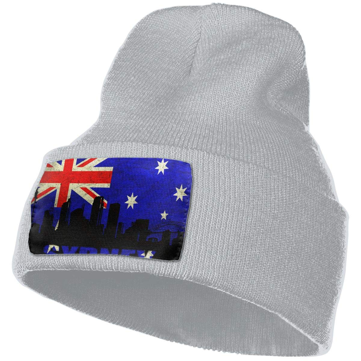 JimHappy Australia Sydney Architecture Hat for Men and Women Winter Warm Hats Knit Slouchy Thick Skull Cap