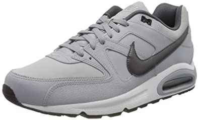 2019 Good SNEAKERS AIR MAX COMMAND LEATHER Uomo Grey black