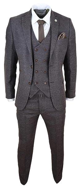 Amazon.com: TruClothing.com - Chaleco de lana para hombre ...