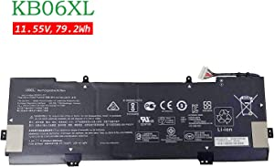 BOWEIRUI Replacement Laptop Battery for Hp KB06XL (11.55V 79.2Wh 6860mAh) X360 15-BL002XX Z6K96EA Z6K97EA Z6K99EA Z6L00EA Z6L01EA Z6L02EA Series KBO6XL 902499-855 902401-2C1 HSTNN-DB7R TPN-Q179