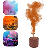 Colorful Smoke Bombs, 1/6 Pcs Smoker Cake Colorful Fog Effect Maker Stage Show Photography Film Background Aid Party…