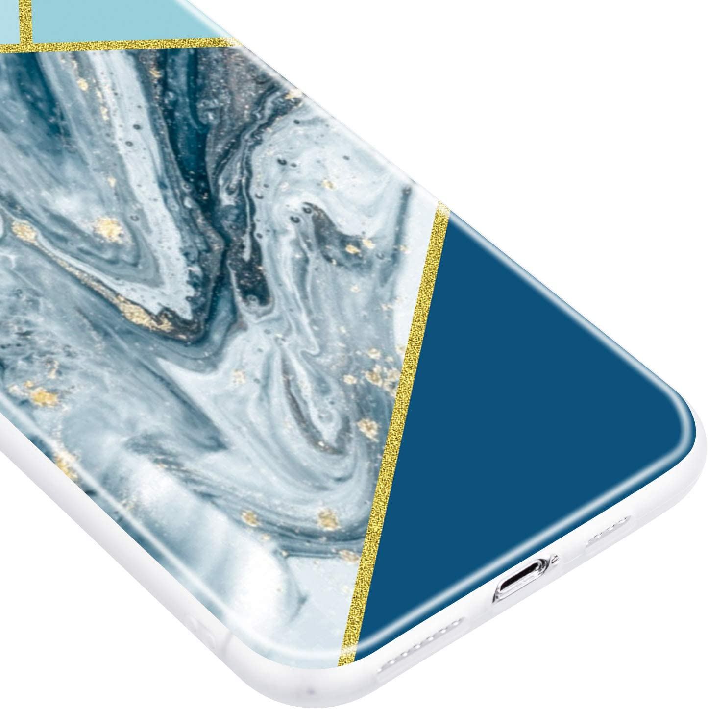 Marble Silicone Shockproof Soft Rubber Bumper Case Non-Slip Back Cover Thin Fit for Apple iPhone 11 Pro Max 6.5 LOQXU010088 L8 Lomogo Case for iPhone 11 Pro Max