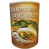 Biller Champignon Gemüsesuppe Instant Diät Suppe Slim glutenfrei ohne Glutamat vegetarisch150g Dose